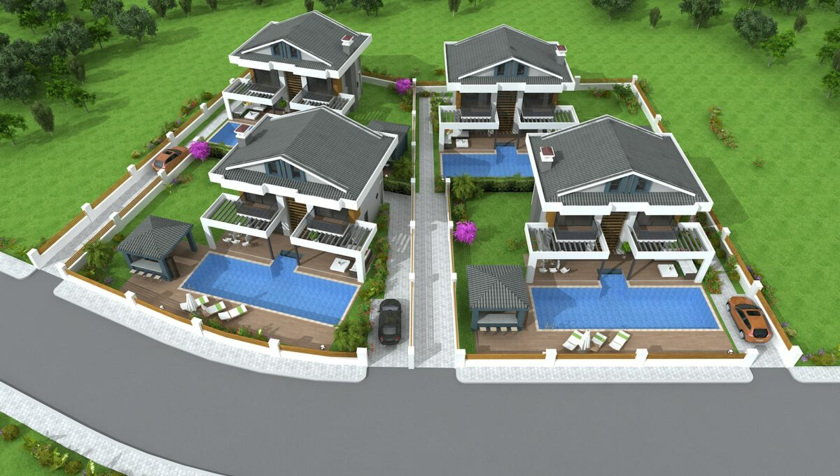 Hisar Center Villas - Nokta Homes - Fethiye (6)